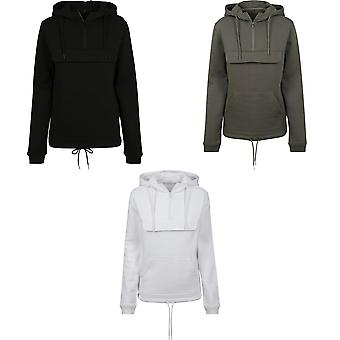 Build Your Brand Womens/Ladies Pullover Hoodie