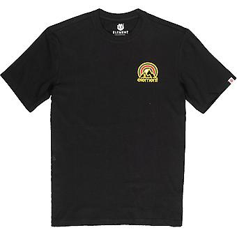 Element Sonata Short Sleeve T-Shirt in Flint Black