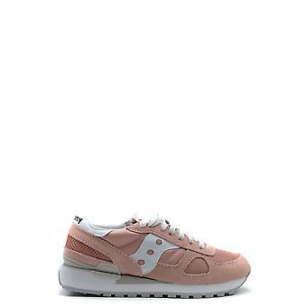 Saucony Ezbc430003 Women's Pink Suede Sneakers