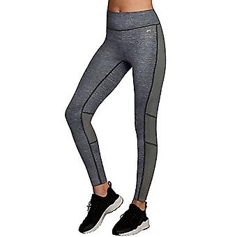 Maidenform Women's Sport Baselayer Active Pant, Charcoal Heather Print/Black,...