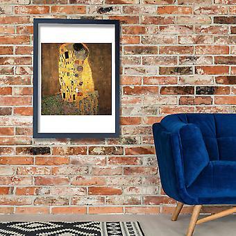 Gustav Klimt - The Kiss II Poster Print Giclee