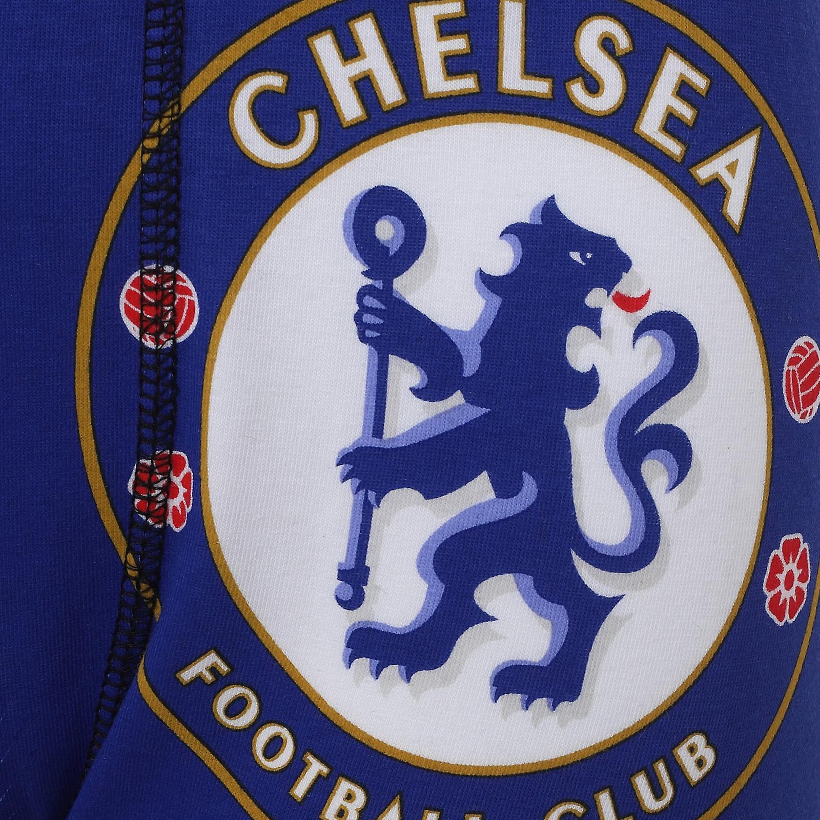 Chelsea FC Boys Boxer Shorts 3 Pack Crest Kids OFFICIAL Football Gift ...