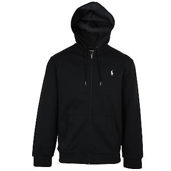 Ralph lauren men's zwart geritst sweatshirt
