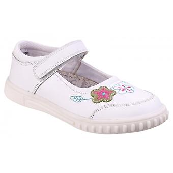 Hush Puppies Lottie Girls Casual Shoes White