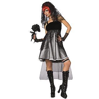 Gotische bruid jurk vrouw