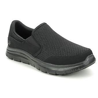 נעלי עבודה בטיחות מקאלן Skechers Mens Flex
