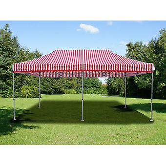 Vouwtent/Easy up tent FleXtents PRO 3x6m gestreept