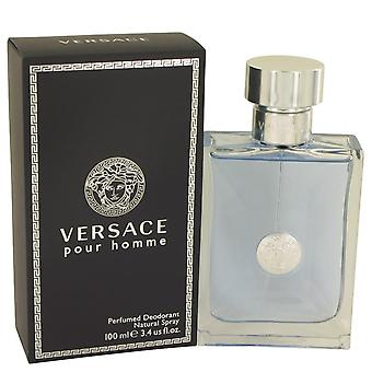 Versace Pour Homme Deodorant Spray By Versace   536339 100 ml