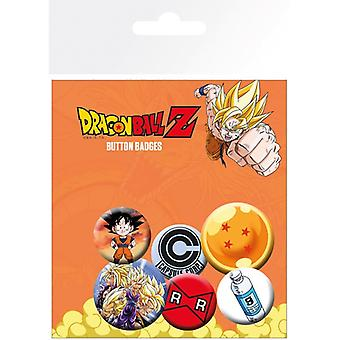 Dragon Ball Z Mix Pin Düğme Rozetleri Seti