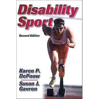 Disability and Sport by Karen P. DePauw - 9780736046381 Book