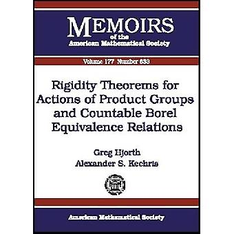 Rigidity Theorems for Actions of Product Groups and Countable Borel E