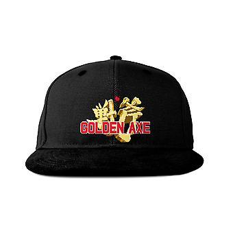 Official Golden Axe Japanese Logo Snapback