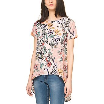 Glamorous Women's T-Shirt In With Colorful Print