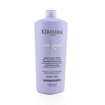 Blond absolu bain ultraviolett anti mässing lila schampo (ljusare, svalt blont eller grått hår) 239323 1000ml/34oz
