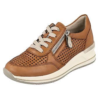 Zapatos de remonte para damas con detalles perforados D3200