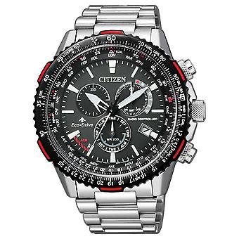 Citizen CB5001-57E Promaster Sky radio-controlled Eco-Drive men's watch 47 mm