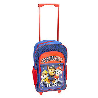 Paw Patrol Childrens/Kids Pawfect Team Trolley Backpack