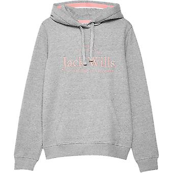 Jack Wills Hunston Embroidered Hoodie Ladies