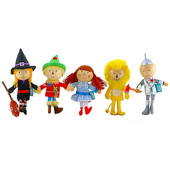 Fiesta Crafts Wizard Of Oz Finger Puppet Set (5)