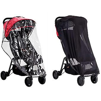 Mountain Buggy Nano All Weather Cover Set (Sun & Storm Cover)