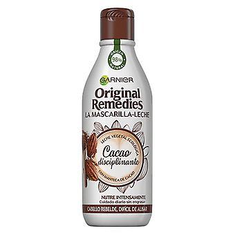 Hair Mask ORIGINAL REMEDIES leche y cacao Garnier (300 ml)