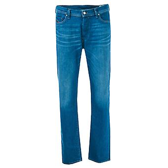 Men's Diesel Thytan Straight Leg Jeans in Blue