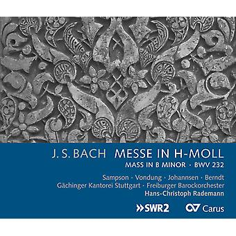 Bach, J.S. / Sampson / Gaechingen Chorale Stuttgart - Messe in H-Moll (Mass in B Minor) Bwv 232 [CD] USA import