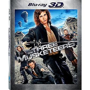 Tre musketerer 3D (2011) [BLU-RAY] USA import