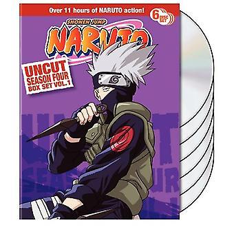 Naruto Uncut : Vol. 1-Season 4 [DVD] USA import