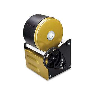 Cooksongold Rubber Barrel Gold Pro 3lb Jeweller's Metal Barrelling Machine, Kit Disponível