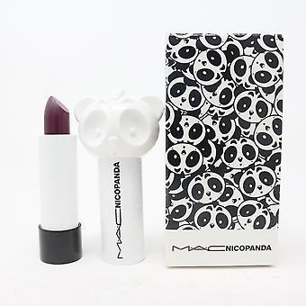 Mac Nicopanda Matte Lipstick 0.11oz/3.3g Nieuw met doos