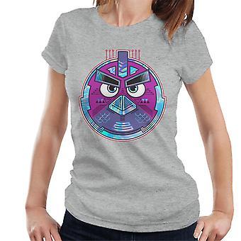Angry Birds Mech Bird Round Women's Camiseta