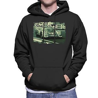 Motorsport Images Herrmann Attwood Porsche 917 K Men's Hooded Sweatshirt