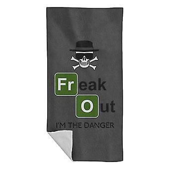 Freaking Danger Breaking Bad Beach Handtuch