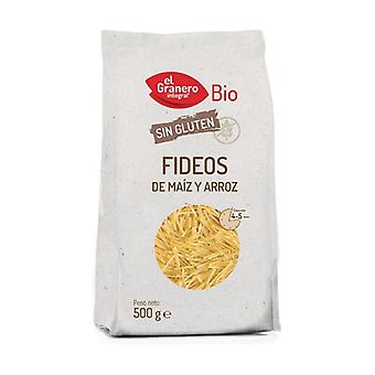 Organic Gluten Free Corn and Rice Noodles 500 g