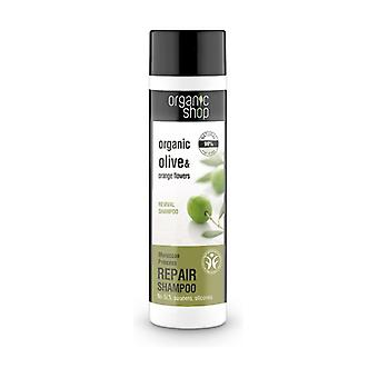 Organic Olive and Orange Flowers Revival Shampoo 280 ml