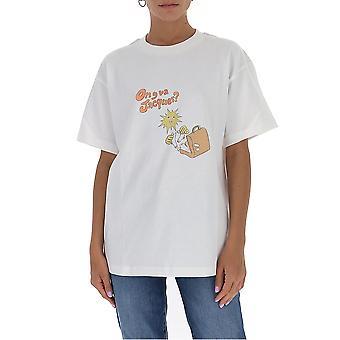 Jacquemus 203js17203218753 Women's White Cotton T-shirt