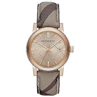 Burberry BU9040 העיר רוז זהב גוון נשים ' s שעון