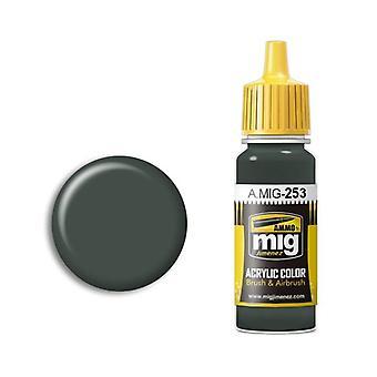 Ammo by Mig Acrylic Paint - A.MIG-0253 RLM74 Graugrun (17ml)