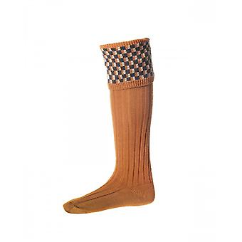 House of Cheviot Country Socks Stirling ~ Ochre