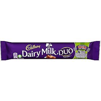Cadbury Dairy Milk Duo Chocolate Bars