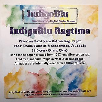 IndigoBlu Ragtime 6x6 Inch Handmade Cotton Rag Paper