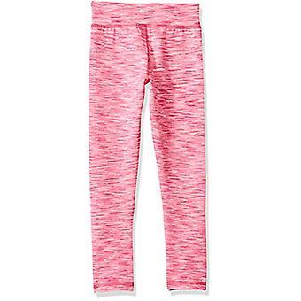 Essentials Peuter Girls' Full-Length Active Legging, Pink Spacedye, 3T