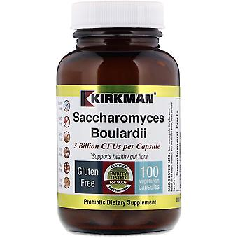 Kirkman Labs, Saccharomyces Boulardii, 3 Billions, 100 Vegetarian Capsules