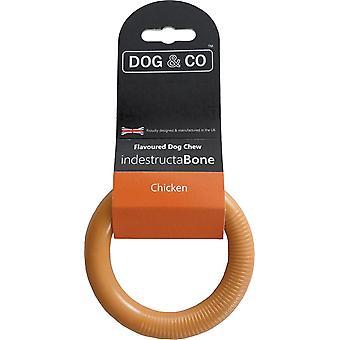 Hond & Co Nylon Dental Chew Kleine Ring Kip - 5 inch