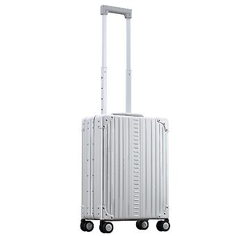 "ALEON Vertical Business Carry-On 21""Kabinentrolley 55 cm 4 Rollen, Silber"