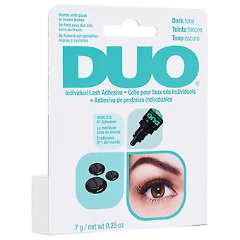 DUO Individual False Lashes Adhesive - 7g Dark Tone - High Quality Lash Glue