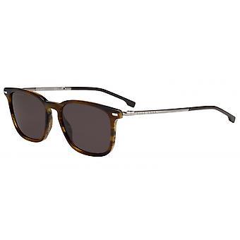 Okulary przeciwsłoneczne Mężczyźni 1020/SEX4/70 Męski ciemny brąz/brąz