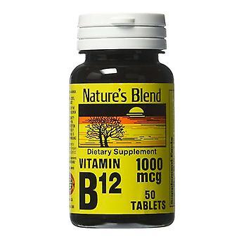 Nature's mix vitamine B-12, 1000 mcg, tabletten, 50 ea *