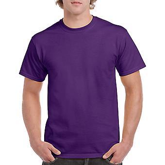 Gildan G5000 Plain Heavy Cotton T Shirt in Purple